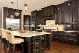 dark chocolate kitchen cabinets dark chocolate solid wood kitchen cabinet buy cherry wood kitchen