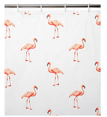 Flamingo Shower Curtains Update Your Bathroom 10 Stylish Shower Curtains Fresh Design Blog