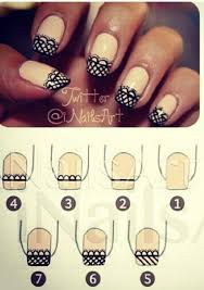 Nail Art Lace Design 131 Best Easy Cute Nail Art Designs Images On Pinterest Make