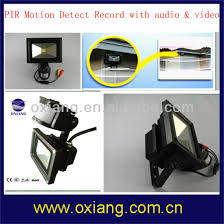 motion detector light with wifi camera china 10w pir motion sensor led flood light wifi security camera