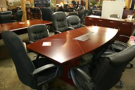 Narrow Conference Table Mayline Corsica Conference Table Nashville Office Furniture