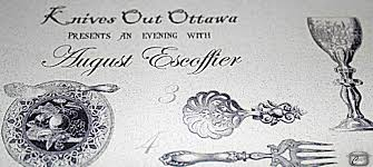 cuisine escoffier knives out ottawa celebrates escoffier in gastronomic feast