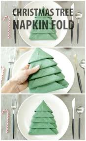 diy tree napkin fold handy