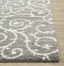 Gray And White Area Rug Grey Rug 8 10 Roselawnlutheran