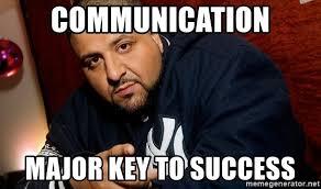 Communication Major Meme - communication major key to success dj khaled liar meme generator