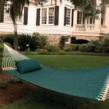 island bay comfort weave double hammock hayneedle