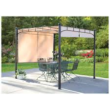 Castlecreek Patio Furniture by Castlecreek Freestanding Pergola With Adjustable Shade U0026 Canopy