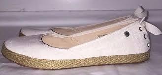 ugg womens indah shoes white ugg australia womens white indah shoes size 10 style 1003493