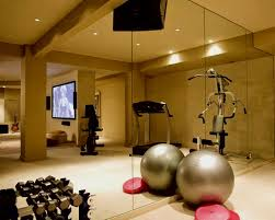Home Gym Decor Ideas Mirrors For Workout Room