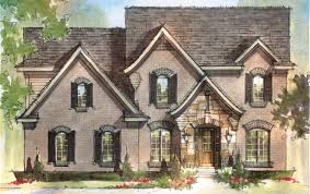 Brick Colonial House Plans by Floor Plans Arteva Homes