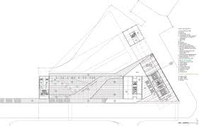 Convenience Store Floor Plans by Gallery Of Keelung New Harbor Service Building Competition Entry