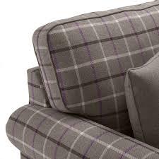 Grey Check Sofa Salcetti Fabric 3 Seater Sofa U2013 Next Day Delivery Salcetti Fabric