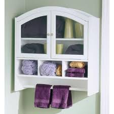 Wall Mounted Bathroom Shelves Impressive Bathroom Cabinets Corner Wall Mounted Pertaining To