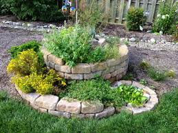 herb gardens how to build a spiral herb garden spiral garden design plants