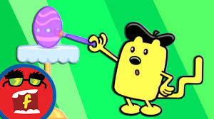 coloring eggs fredbot children u0027s cartoon wow wow wubbzy