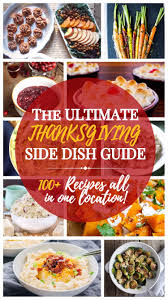 the ultimate thanksgiving side dish recipe guide with a bonus