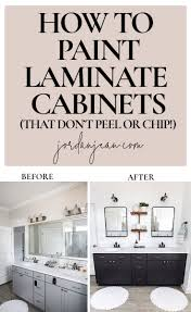 what of paint to paint laminate cabinets how to paint laminate cabinets jean