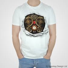 steampunk clockwork robot halloween t shirt u2013 spicetag