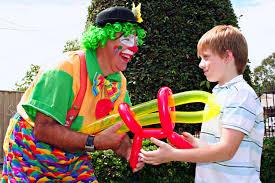 clown baloons balloon clown birthday melbourne