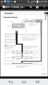 pioneer deh 2000mp wiring diagram shed 12 volt for for super tuner
