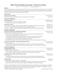 Sample Resume For Tutors by Resume Samples Students Prep Your Path Westchester Ny