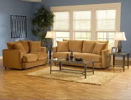 bella cognac fabric living room sofa u0026 loveseat set