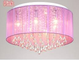 Chandelier Pink New Shade Ceiling Chandelier Pendant Light Fixture