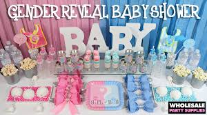baby shower gender reveal ideas gender reveal ba shower ideas