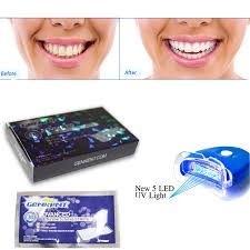 uv light at home teeth whitening strips laser uv 5 leds light tooth whitener kit