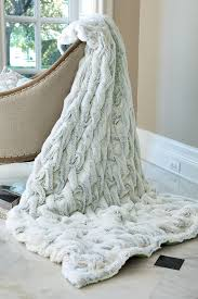 Faux Fur Blanket Queen Luxefinds Fashion Shopping Engine