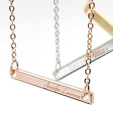 name engraved necklace same day shipping gift til 2pm cdt a personalized your