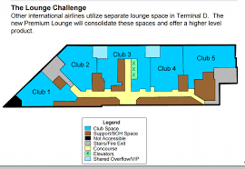 dfw airport u0027s plans for new american airlines first class lounge