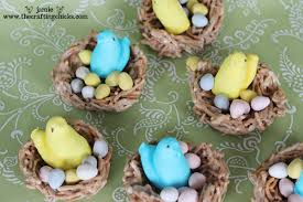 Easter Decorations Using Peeps by Tweet Tweet You Are Sweet Easter Treat Ideas U0026 Free Tags The