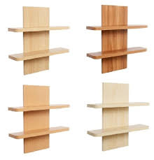 Shelves Bookcases Maple Floating Wall Shelves