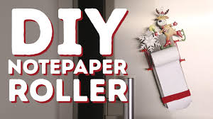 how to make a diy notepaper roller l 5 minute crafts youtube