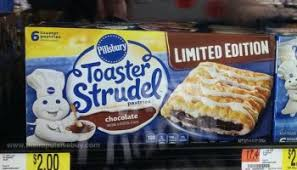 Toaster Strudel Ad Spotted On Shelves Limited Edition Pillsbury Maple Brown Sugar