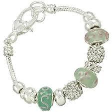 bracelet murano glass images Vacation ready pandora inspired turquoise jade bead bracelet jpg