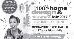 100 home design u0026 furniture fair 2017 at singapore expo from 3