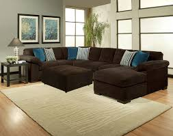 Upholstery Sectional Sofa Cmi 64404 3 Pc Dragonfly Collection Brown Colored Fabric