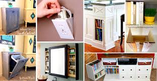 Home Storage Solutions by 41 Mind Blowing Hidden Storage Ideas Making A Clever Use Of Your