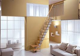 cool space saving stairs quarter turn staircase for the home
