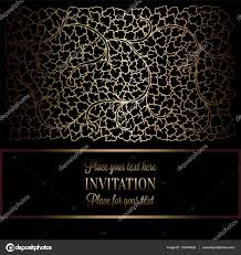 abstract background with antique luxury black and gold vintage