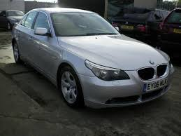bmw 5 series for sale used 2006 bmw 5 series saloon silver edition 520d se 4dr diesel