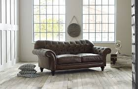 Brown Leather Sofas by Vintage Leather Sofa Chesterfield Company