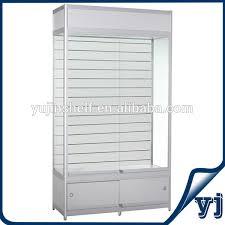 white glass storage cabinet guangzhou yujin manufacture modern display glass cabinets white