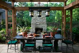 outdoor dining rooms an outdoor dining room under a wooden pergola outdoor living