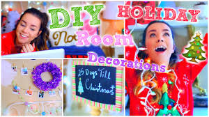 christmas home decorations ideas diy holiday room decorations cute u0026 easy decor ideas youtube