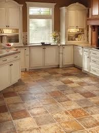Black And White Ceramic Tile Kitchen Floor Kitchen Tile Floor Ideas With White Cabinets Stainless Steel