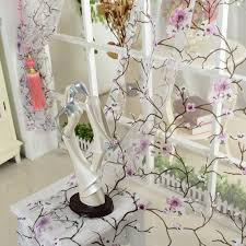 Plum Flower Curtains Aliexpress Com Buy 1pcs Lot Isinotex Window Curtain Plum Flower