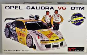 opel calibra race car opel calibra v6 dtm team rosberg ut models 1 24 all parts in bags